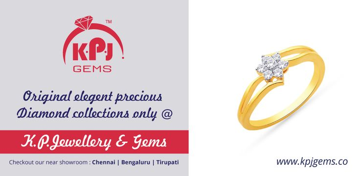 Sukra or Venus represents luxuries, partnerships, wealth, beauty, arts, comforts, jewellery, happiness and vehicles. The precious Diamond harmonizes the effects of Sukra. Original Elegant Precious DIAMOND Collections Only at +K P Jewellery & Gems  For more details log on to http://goo.gl/5tj5DQ Call :- +91 96001 17755 ‪#‎Diamond‬ ‪#‎PreciousGems‬ ‪#‎Gemstones‬ ‪#‎Navarathna‬ #Diamond   #PreciousGems   #Gemstones   #Navarathna