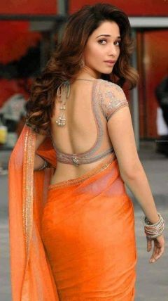 Tamannaah Bhatia is an Indian film actress and model, who performs under the mononym Tamannaah and predominantly appears in South Indian cinema  Here is a Milky white Kollywood beauty Tamannah Bhatia showing her back and asking her fans how was it and how many like to tap bum ??  ------ TAMNNA BHATIA -----
