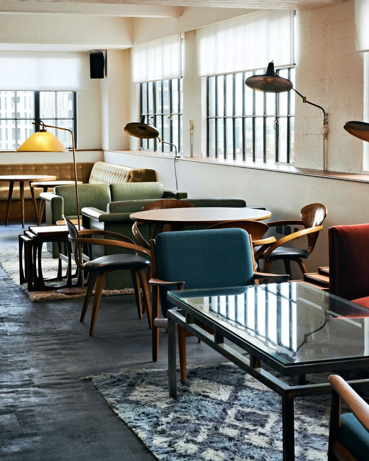 The beauty of staying at Shoreditch House is that you get instant access to members-only areas. #London