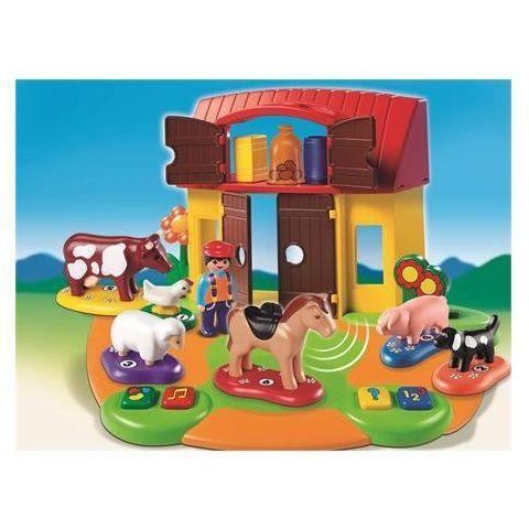 6766 Ferme Interactive  - marque : Playmobil La ferme interactive Playmobil 6766 est une joyeuse pagaille! Le cheval a très envie daller faire une promenade. Avec 1 personnage, 6 animaux et plusieurs accessoires (fleurs, ton... prix : 27.94 EUR €  chez Auchan Jeux et Jouets #Playmobil #AuchanJeuxetJouets