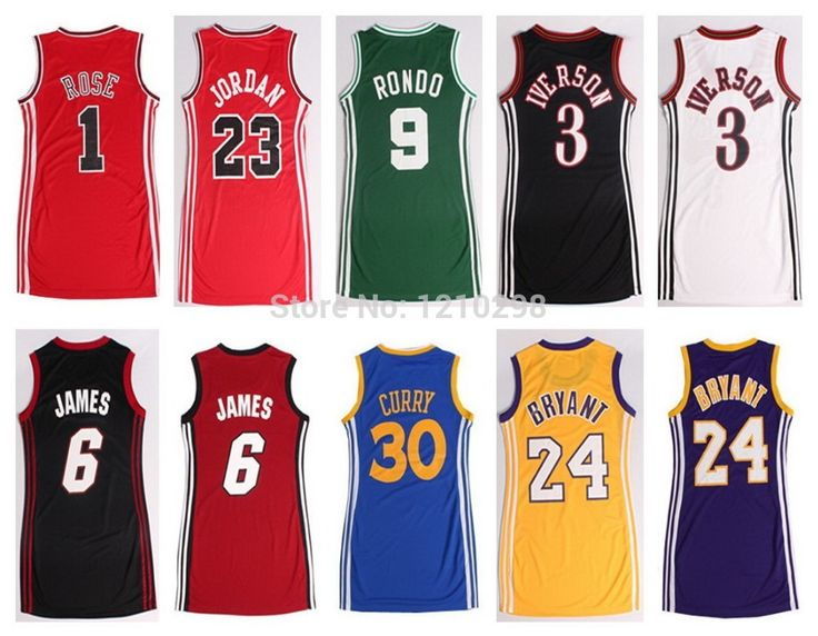 pas cher femmes robe de basket maillot lebron james kobe. Black Bedroom Furniture Sets. Home Design Ideas