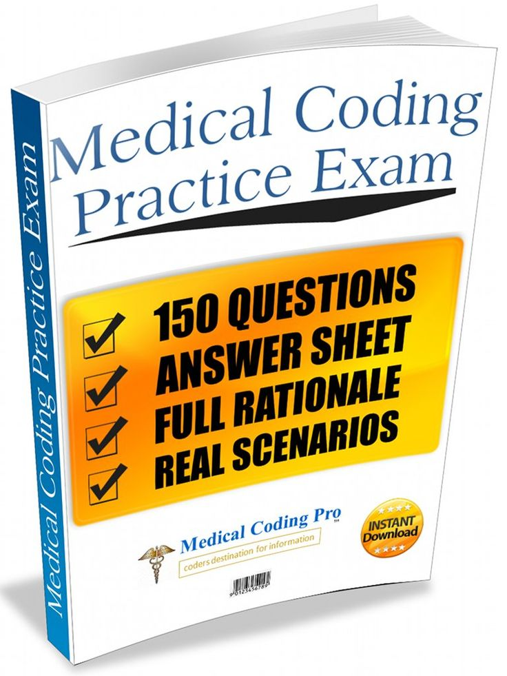 Full 150 question medical coding practice exam with rationale.
