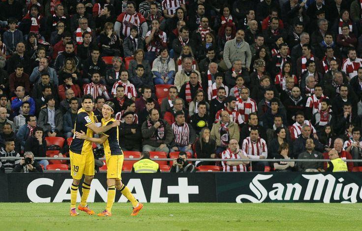 El Atlético de Madrid silencia San Mamés.