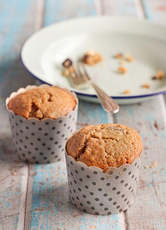 Mirtilo, chocolate branco e limão Muffins