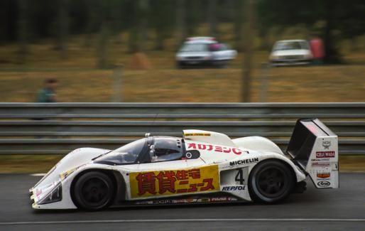 Le Mans - Heinz-Harald Frentzen avec seize ans d'intervalle