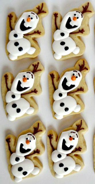 How to Make Olaf Cookies | Baby Mum Mum | Babies Love Christmas | #babies #christmas
