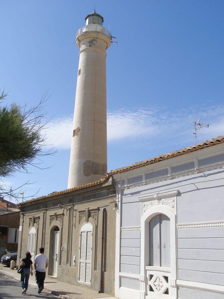 Il faro di Punta Secca in Santa Croce Camerina, Sicilia