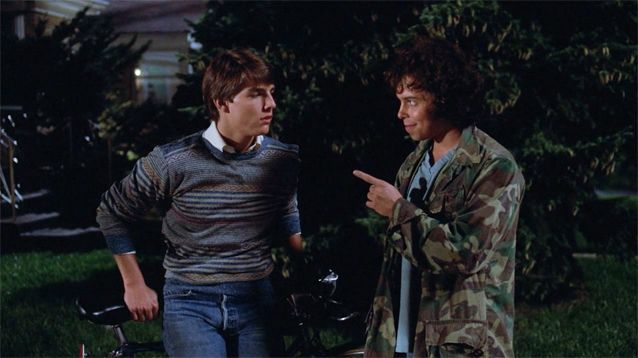 """Risky Business"" (1983) Tom Cruise & Curtis Armstrong / Miles: Sometimes you gotta say ""What the Fuck"", make your move. Joel, every now and then, saying ""What the Fuck"", brings freedom. Freedom brings opportunity, opportunity makes your future. So your parents are going out of town. You got the place all to yourself.  Joel Goodson: Yeah.  Miles: What the fuck."