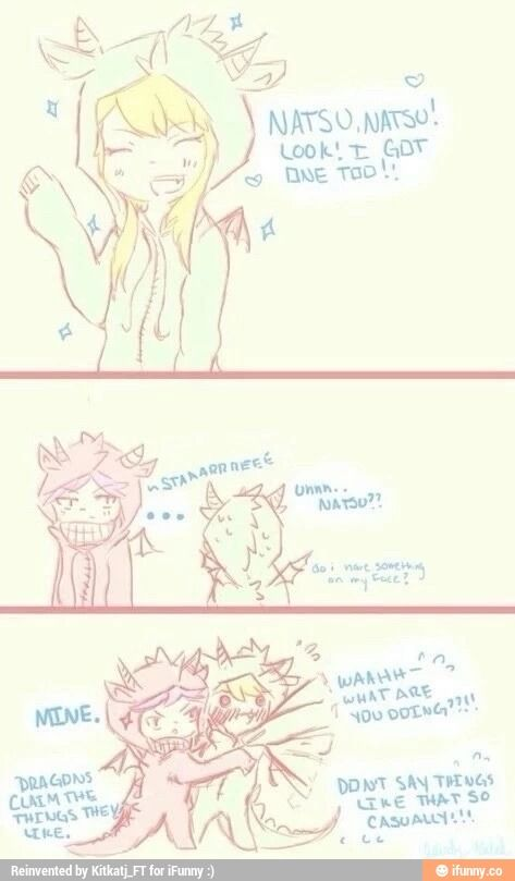 Nalu. Oh my. Possessive Natsu.