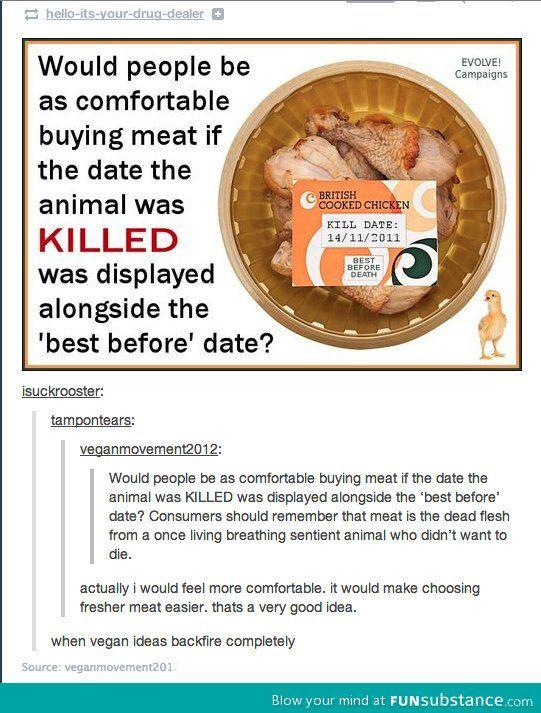 When vegan ideas completely backfire.