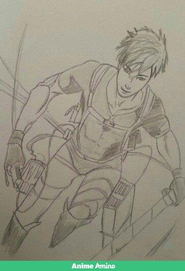 Erwin Smith-Shingeki no Kyojin(own drawing)