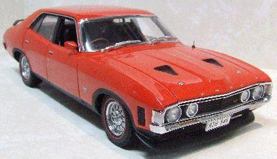 Ford Falcon XA GT RPO83 Sedan Red Pepper 1973