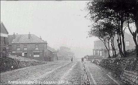 Anchor Road looking down towards Longton