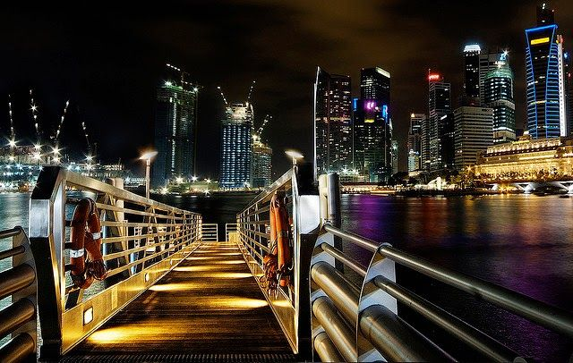 Board to cruise, Singapore,