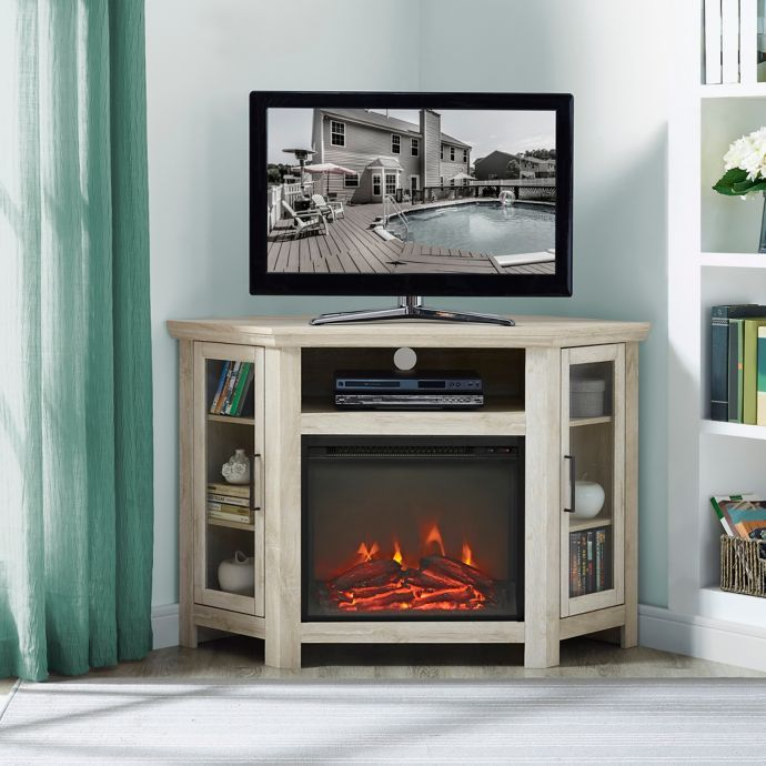 38+ Gray corner fireplace tv stand ideas