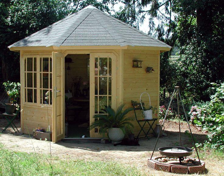 Počet Nápadov Na Tému Gartenpavillon Holz Na Pintereste: 17 ... Holz Pavillon Wabenform