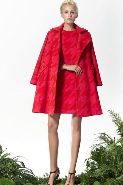 Wool Coat, Wool Dress, Red Dress, Red Coat, Xmas Dress, Xmas outfits! http://www.lastyleloft.com/online/shop-by-designer/vanessa-cheung/