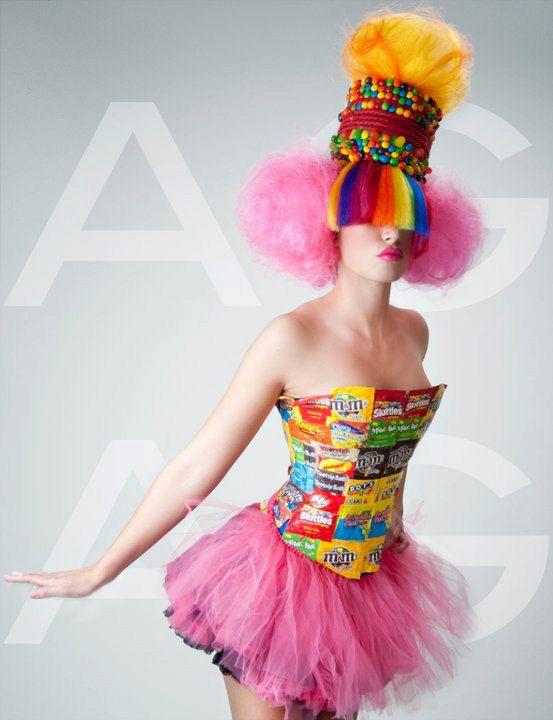 Willy Wonkas Mistress Candy Inspired Headdress