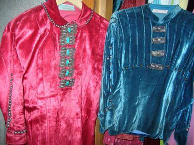 Navajo Velvet Blouse - Sleeveless Blouse Models
