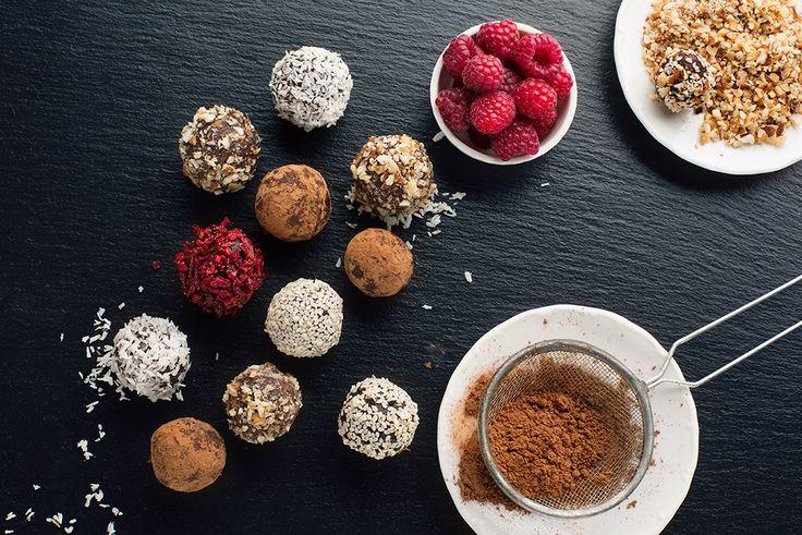 Retete de dulciuri sanatoase: trufe de ciocolata delicioase pentru un desert fara vinovatie!