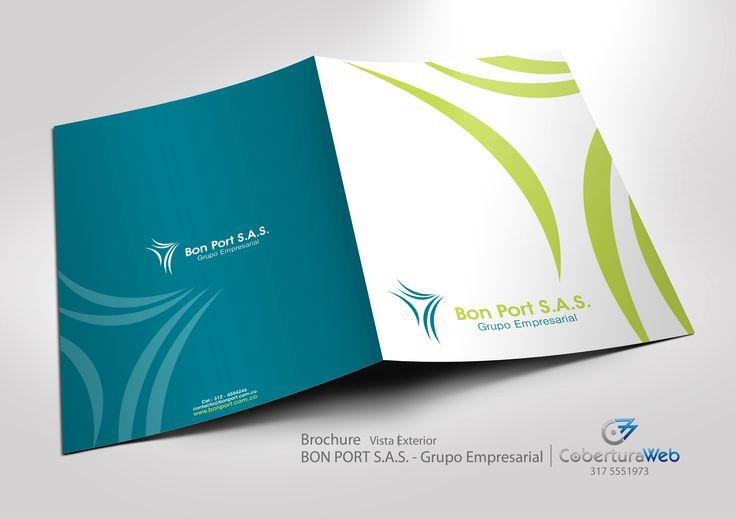 Compañía: Bon Port S.A.S. País: Colombia  Diseño: Brochure - Vista Exterior