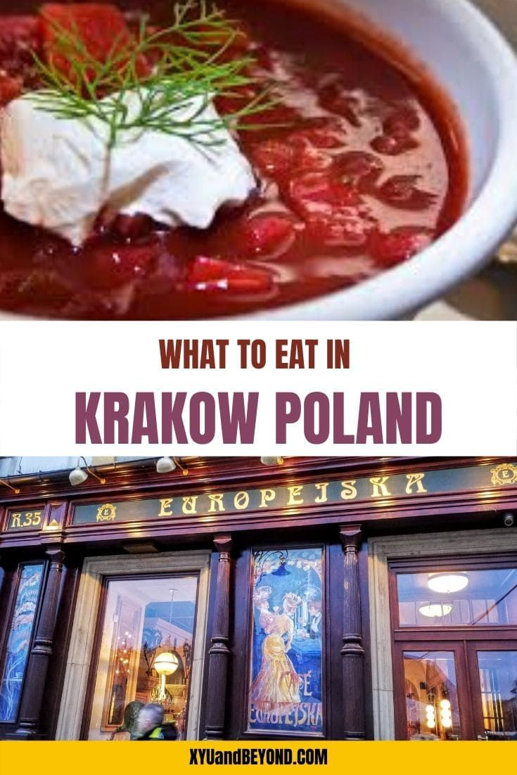 The Absolute Best Things To Eat In Krakow Poland In 2020 Foodie Destinations Unique Recipes Culinary Destinations