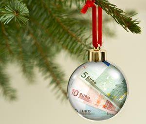Geldgeschenk Weihnachtskugel