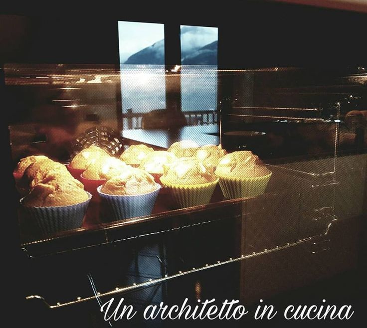 Muffin all'orzo e mele renette