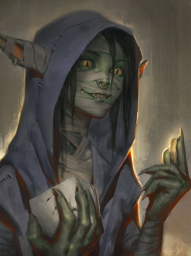 Title: Doctor (Self given). Name: Wyx Horrendoma. Race: City Goblin. Nationality: Rehnessian (Rivainite). Birth-nation: Rehnesse (Rivain province). Age: 16. Occupation: Thieves' guild member and Back-alley surgeon in the Lilannsburg slums. Personality: Cunning, Self-assured, Moral, and Flexible.