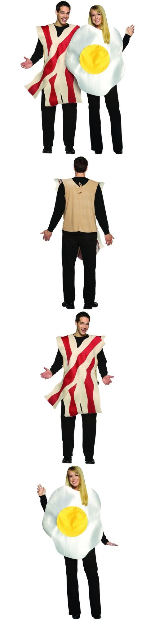 Halloween Costumes: Bacon And Egg Costumes Set Adult Funny Couples Halloween Fancy Dress -> BUY IT NOW ONLY: $35.49 on eBay!