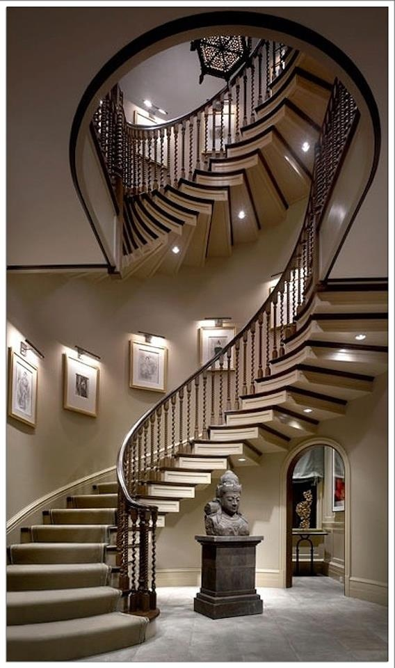 303 Best Grand Staircases Entrances Images On Pinterest
