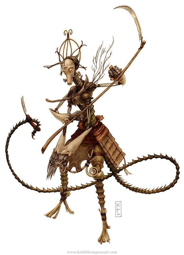 Character Design Techniques Keith Thompson : Concept art robots witch puppet pinterest