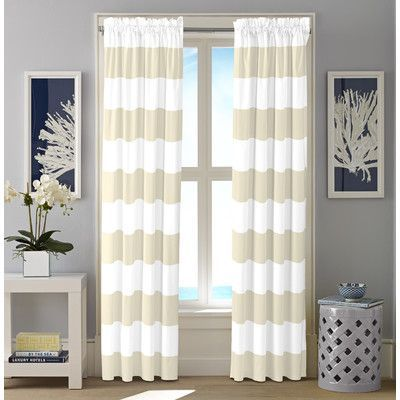 Nautica Cabana Stripe Curtain Panel