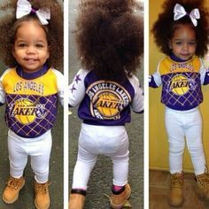 mixed toddler girls with swag - Google Search