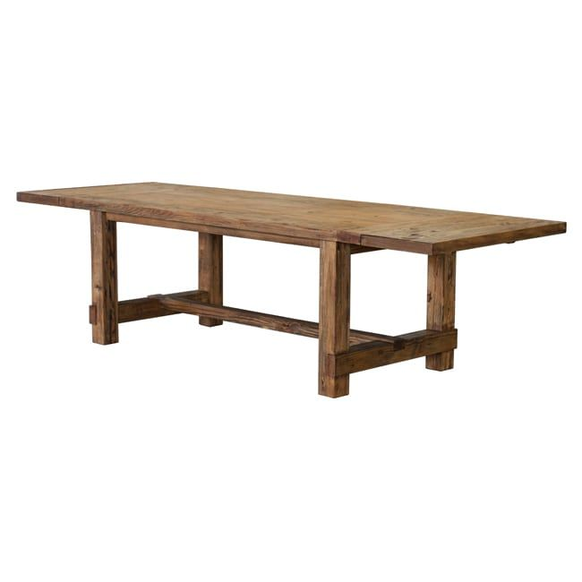 International Country 63-inch Weathered Pine Dining Table (Country Dining Table Brown)