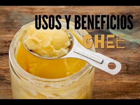 Como hacer Ghee en casa (mantequilla clarificada) - YouTube