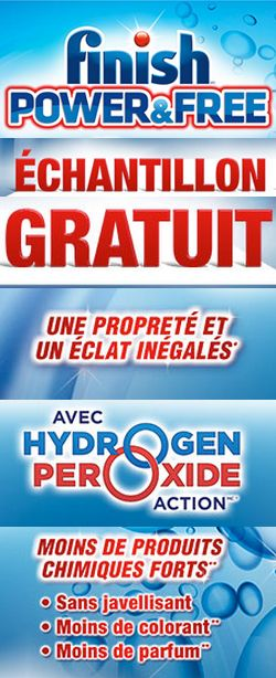 Échantillon Finish Power & Free gratuit. http://rienquedugratuit.ca/echantillon-gratuit/finish-power-free/