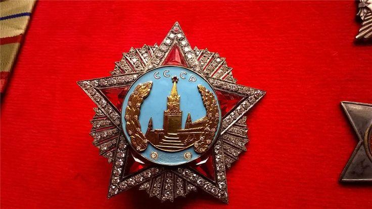 Советский орден Победы самый известный московский копия из коллекции смотреть видео   eBay