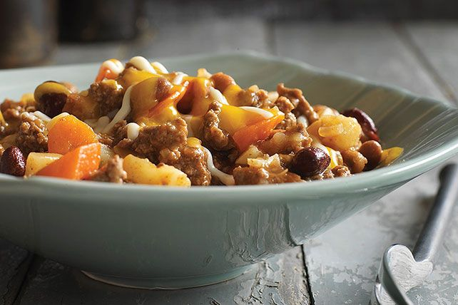 Discover a new keeper with our Ground Beef and Potatoes Dinner.  This easy-to-make ground beef and potato recipe can be ready to serve in just 35 minutes.