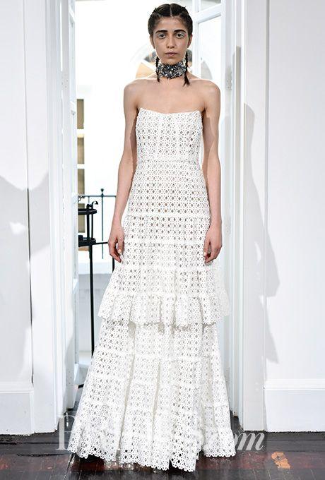 Brides: Houghton Wedding Dresses - Spring 2017 - Bridal Fashion Week