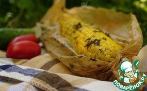 Ароматно-пряная запеченная кукуруза