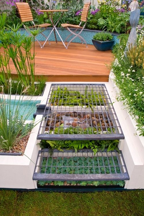 under step grow area: no wasted space & more plants