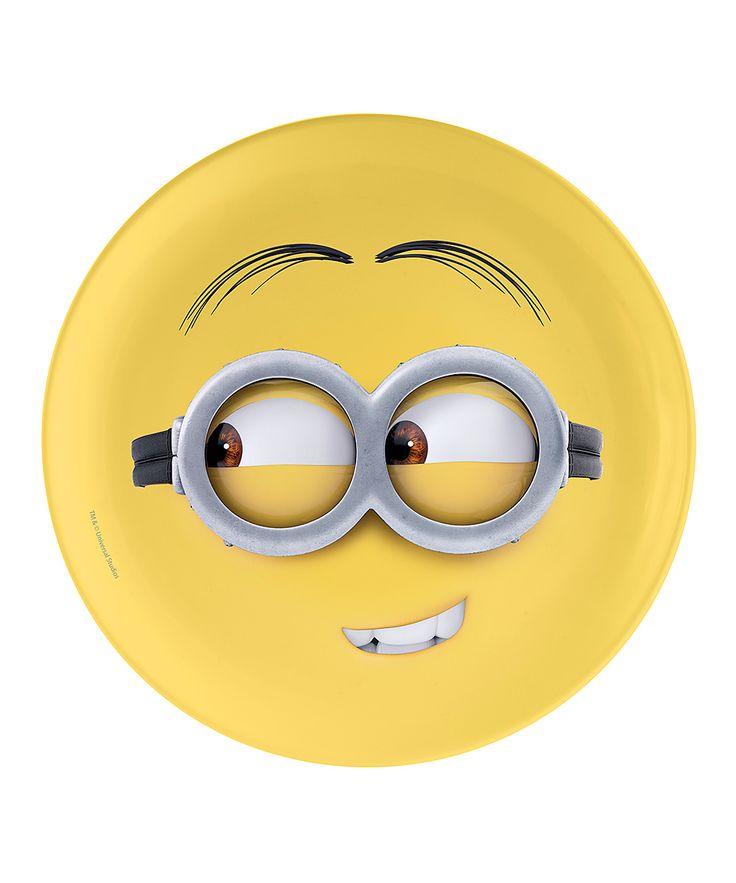 I Speak Minion Despicable Me 2 Minions Plate