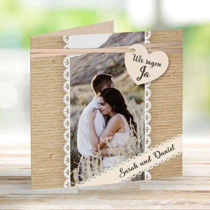 Hochzeitseinladung Country Love  – Hochzeit