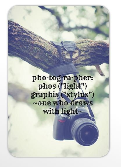 Photographer Magnet Camera Quote Bumper Sticker Nature Camera Photography Definition Phos Light Graphis Stylus One Who Draws with Light