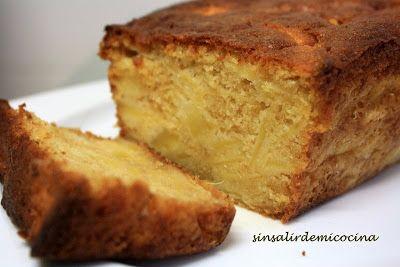 SIN SALIR DE MI COCINA: CAKE DE MANZANA