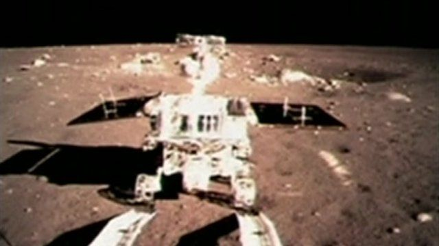 BBC News - China's Jade Rabbit rover rolls on to Moon's surface.  What a great name for China's moon rover!  #China