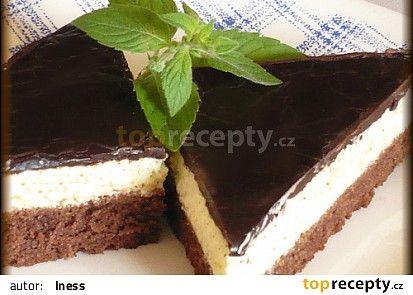 Luxusní čokoládové trojhránky recept - TopRecepty.cz