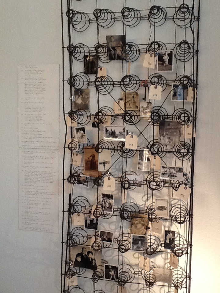 127 best repurposed box springs images on pinterest box for Bed spring decoration
