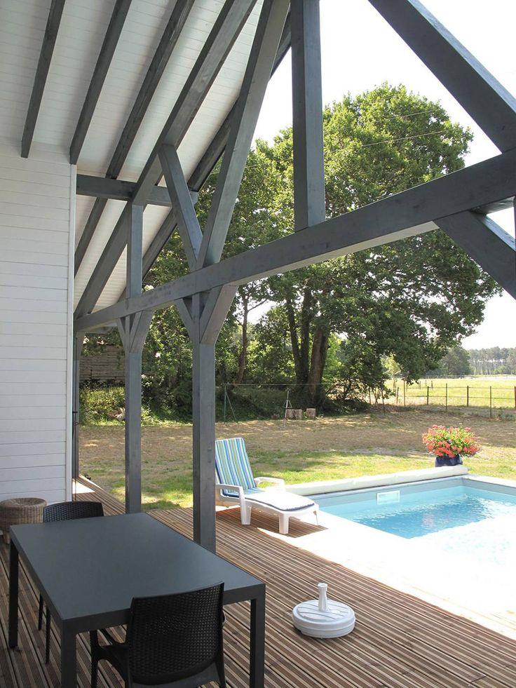 13 best roofs images on Pinterest Basque, Spanish and Swimming pools - location maison cap ferret avec piscine